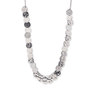 Silver Multi Jingle Necklace