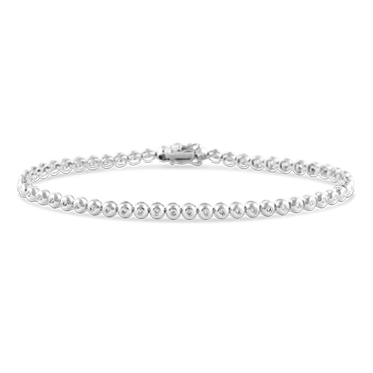 Flush Set Diamond Bracelet